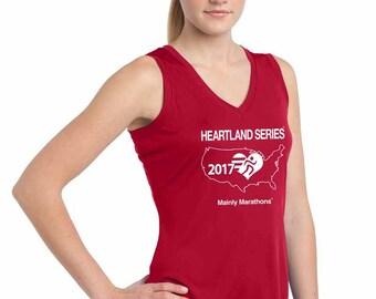 Sleeveless V-Neck Tee  [Women's] - Heartland Series