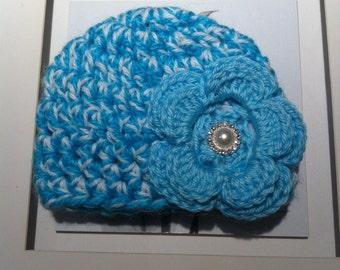 Crochet Chunky baby beanie