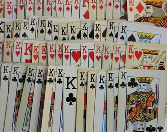 Kings for a Day - Set of 14 King playing cards, King cards, swap cards, King embellishment, King clip art