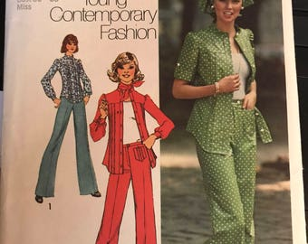 Vintage 70s Simplicity 6792 Separates Pattern-Sizes 14/16 (36/38 Bust)
