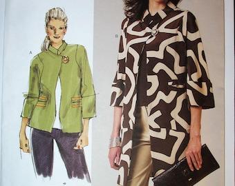 Vogue V1262 Sandra Betzina Today's Fit Loose Fitting Jacket One Size Uncut 1262