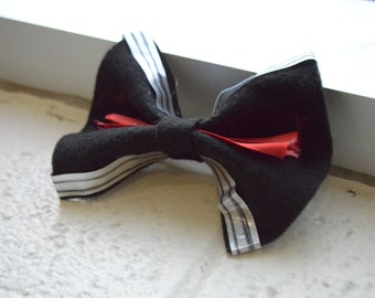 Kylo Ren/Ben Solo Inspired Hair Bow (Star Wars Sequels) by DannyDoesArts for KyloReyCosplay