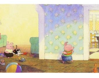 Original artwork from Pigs Love Potatoes!