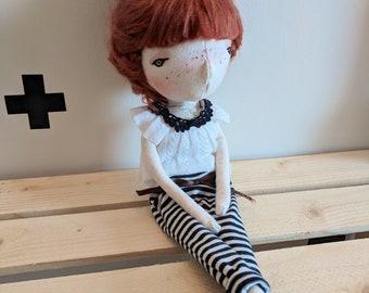 Holly- handmade doll, ooak doll, art doll, doll