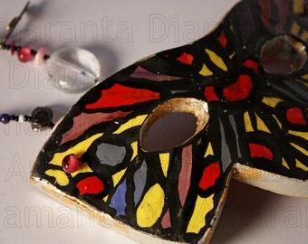 Màskes-Ceramic Mask Decor Butterfly