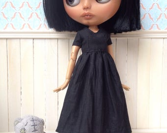 Blythe or pure neemo dress, black