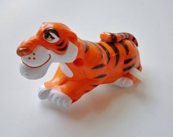 1990 Disney Shere Khan Jungle Book Wind Up Toy Tiger McDonalds Happy Meal Toy Novelty Cake Topper Decoration, Collectible Figure