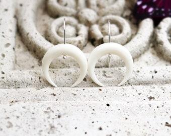 Double Horn Earrings