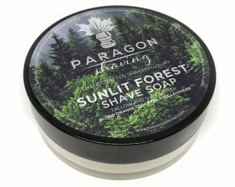SUNLIT FOREST Shave Soap