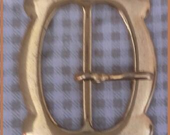 Gold - 4.5 cm X 4.5 cm Metal belt buckle