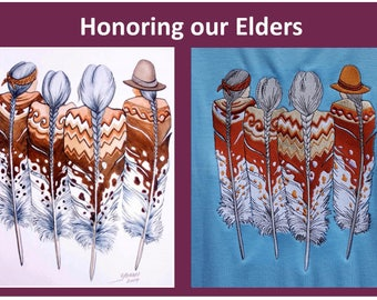 Honoring our Elders Digitized Format for Embroidery.