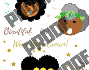 Black Girl Joy Printable Collection 1