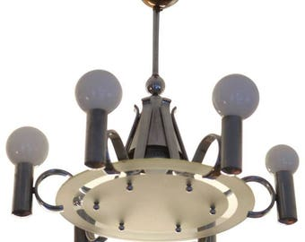 Bauhaus Chandelier from the 1930s