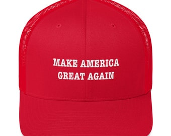 Make America Great Again, Conservative, Libertarian, Republican, MAGA, Liberty, Freedom, Trump, Trucker Cap, Hat