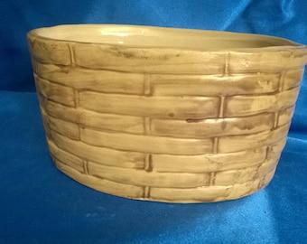 Pottery Fruit/Egg Basket