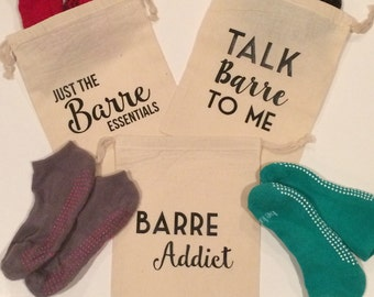 Barre Sock Bag - Barre - Pilates - Sticky Sock Bag