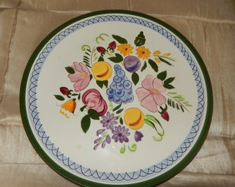 NEW JERSEY STANGL Pottery Plate Wall Hanging