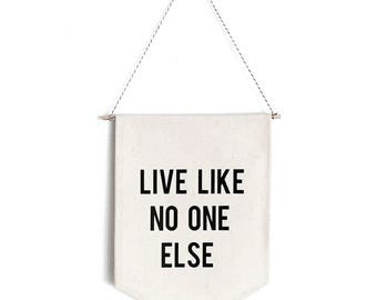 Live Like No One Else Banner | Dave Ramsey