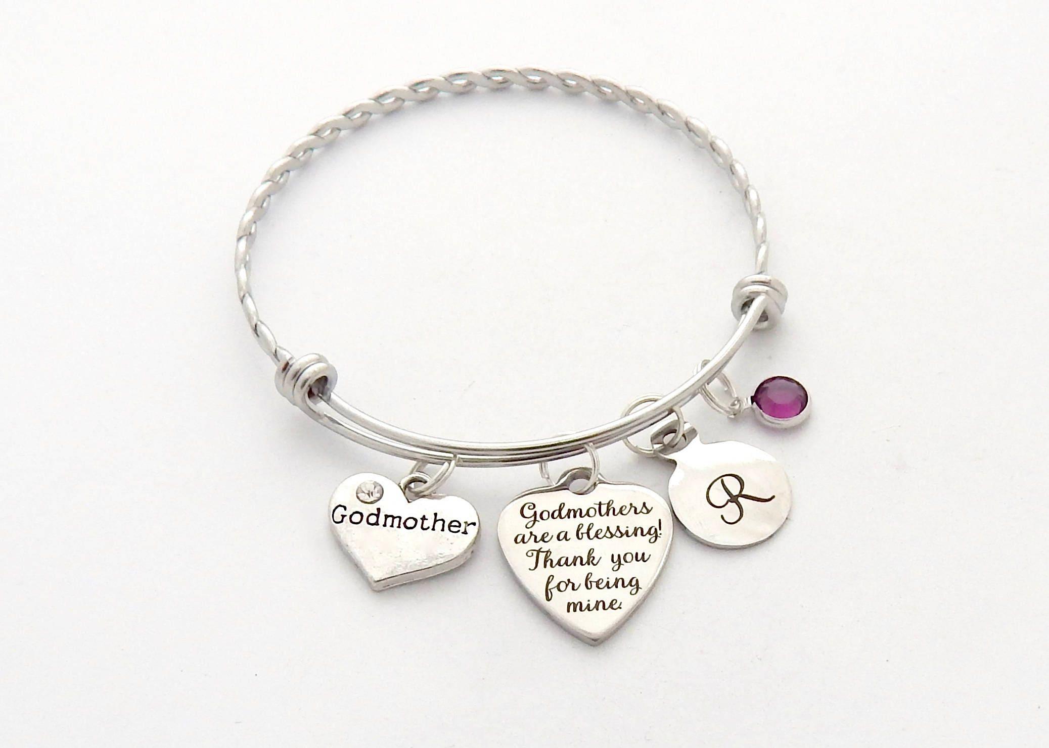 Godmother Gift Godson Gift Long Distance Gift: MARRAINE Cadeau Bracelet Marraine Cadeau De Filleul Cadeaux