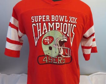 New Large vintage superbowl 23 shirt,San Francisco 49ers shirt, jerzees shirt tee, 80s shirt tee superbowl shirt