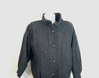 Coat - Short coat - Wool coat - Vintade coat - Bulgarian coat -