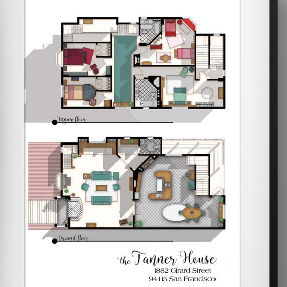 Full House TV Show Floor Plan Fuller House Tv Show Layout