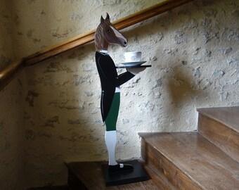 wooden Valet - horse
