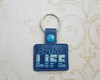 Lake Life Key Fob, Key Chain