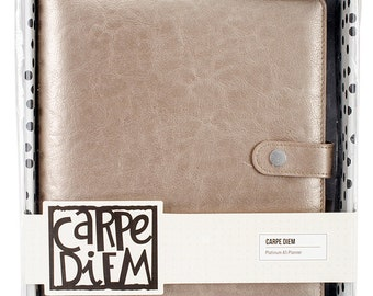 Simple Stories - Carpe Diem - A5 Planner - Platinum