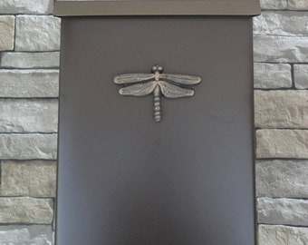 Craftsman Dragonfly Mailbox Oil Rubbed Bronze Arts & Crafts