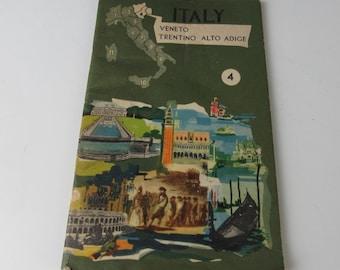 1960s Vintage Guide Book of Veneto - Trentino Italy