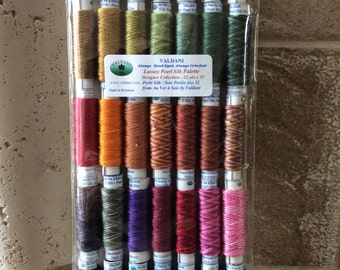 35 Valdani Pearl Silk embroidery thread
