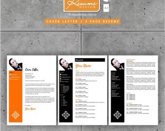 Resume Design Creative Template 1 Professional | Resume Writing | Cover Letter | Resume Design Service | Resume Design Package