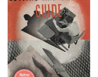 Neweys Cutting and Sewing Booklet- 1930's Sewing Guide -  PDF  Instant Download