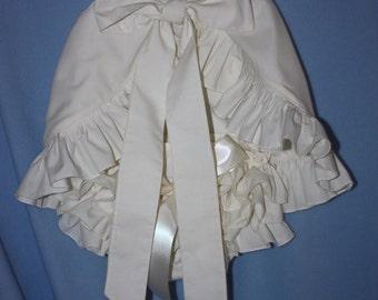 Sassy ruffle Pinafore Top and Sassy Ruffle Panty, or Long Sassy Ruffle Pants Lt. Blue, lt Pink, Yellow, Any color