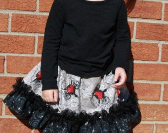 Izzy's Double Ruffle Shirt Skirt PDF Pattern size 6-12 months up to size 8