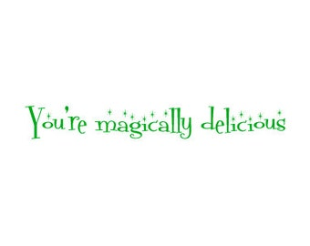 St. Patricks Day Card - for a boyfriend, husband, girlfriend, wife, or friend with benefits:) - You're magically delicious