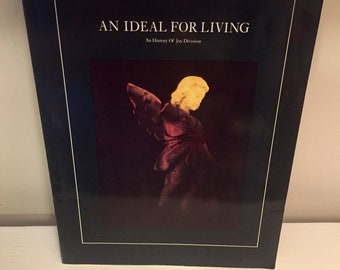 An Ideal for Living: An History of Joy Division by Mark Johnson // 1984 // Vintage Book