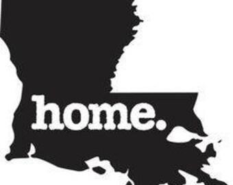 Louisiana-Home-SVG cut file