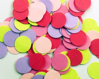 Funfetti Confetti  Large Dots in Butterfly Wings Quantity 250 Pieces