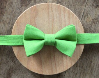 Bowtie lime green - André.