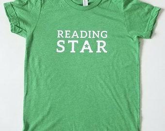 Reading Star -- Kids T-Shirt