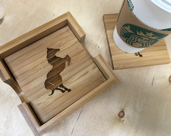 Horse Decor | Equestrian Decor | Horse Coasters | Equestrian Gifts | Equestrian Coasters | Horse Gifts | Drink Coasters | Christmas Gifts