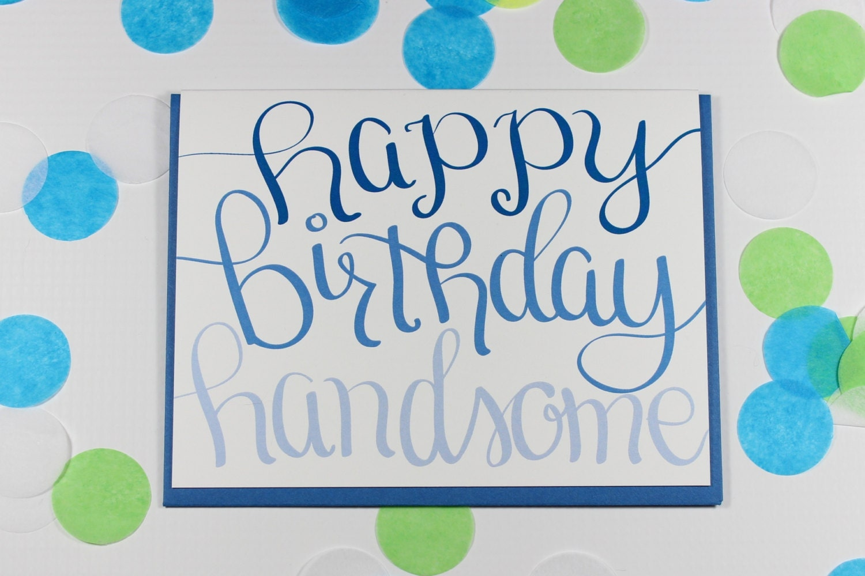 Birthday card husband birthday card boyfriend birthday card zoom bookmarktalkfo Choice Image