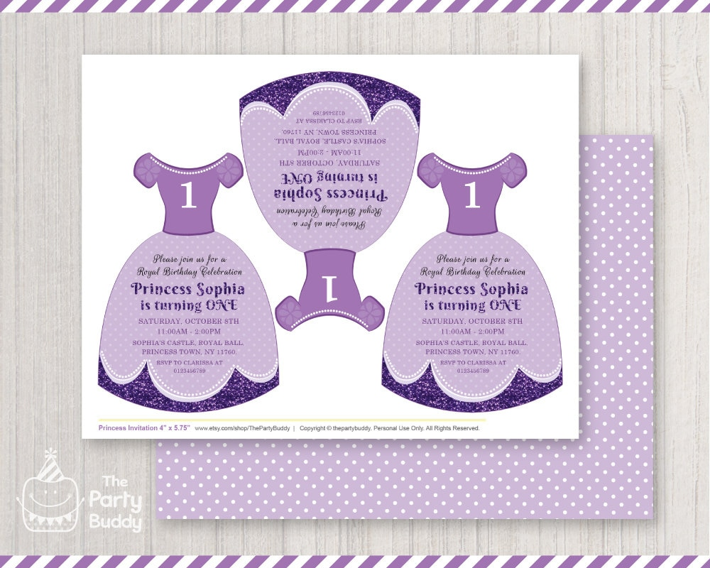 Princess party invitation digital printable diy girls royal 1000 filmwisefo Choice Image