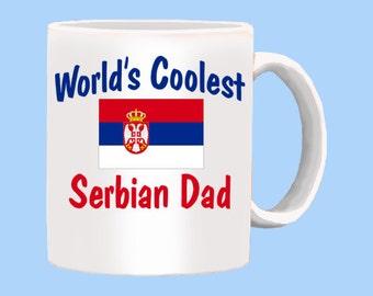 World's Coolest Serbian Dad Mug