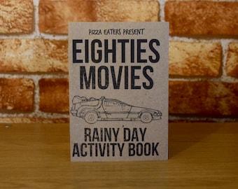 Eighties Movies Rainy Day Colouring & Activity Book
