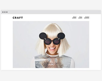 Wordpress template 'Craft'