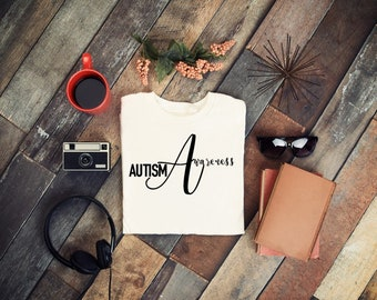 Autism Awareness- Vinyl - Iron On - Permanent Vinyl