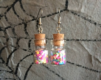 Sprinkles Jar Earrings